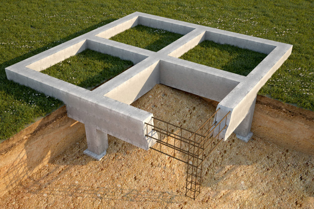Фундаменты для домов своими руками