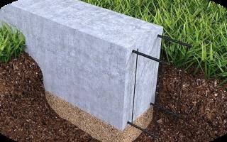 Насколько удобен в использовании ленточный фундамент мелкого залегания?