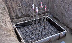Армирование столбчатого фундамента: зачем нужны работы, как они выполняются?