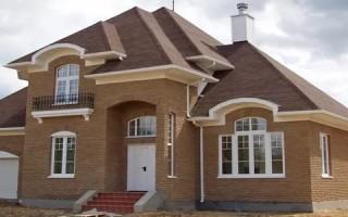 Фундамент под двухэтажный кирпичный дом