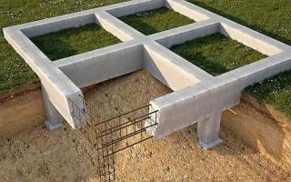 Монолитный столбчатый фундамент: все тонкости возведения