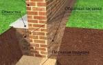 Фундамент из кирпича: особенности, преимущества, способы кладки