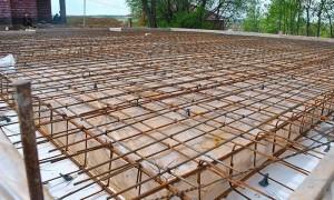 Армирование монолитной плиты перекрытия