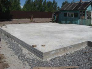 Фундамент для деревянного дома своими руками