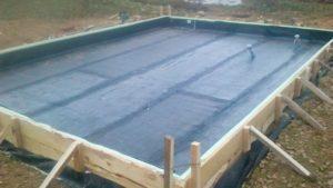 плитный фундамент гидроизоляция