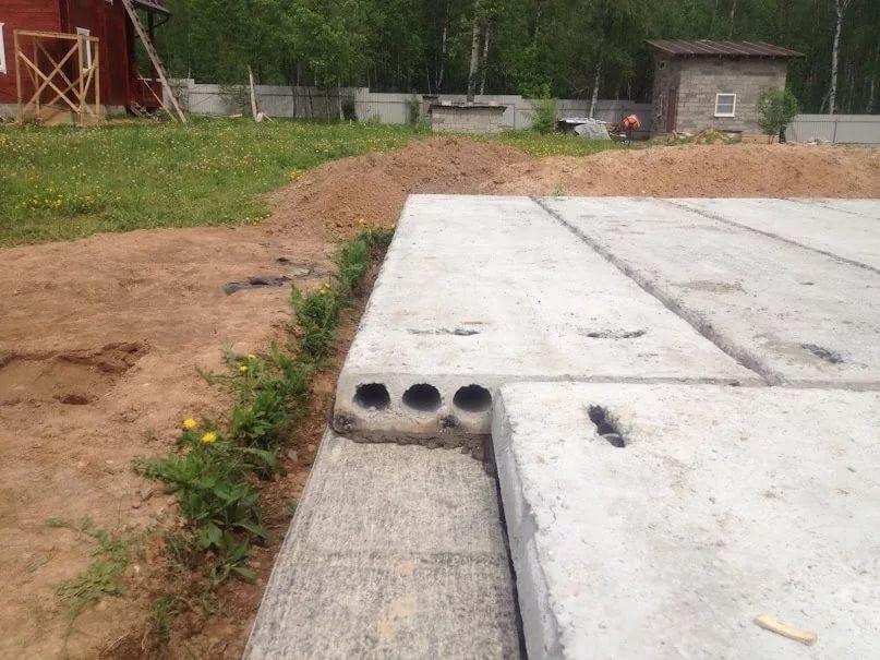 фундамент для двухэтажного дома из пеноблоков