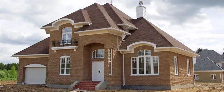 фундамент под кирпичный дом двухэтажный