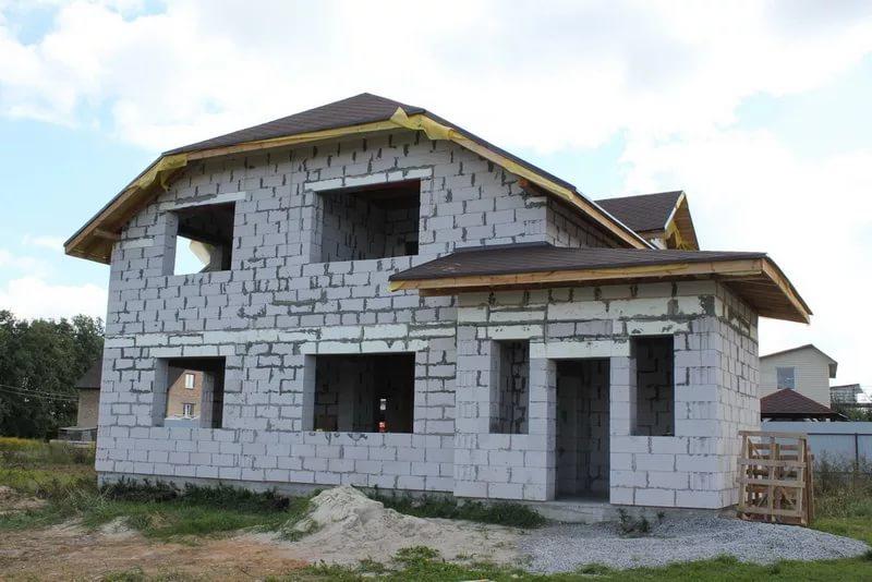 какой фундамент лучше для дома из пеноблоков в 2 этажа